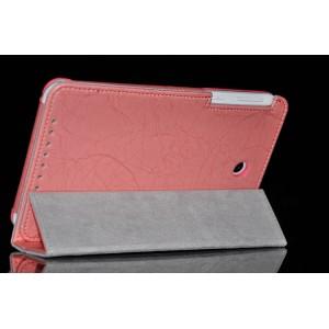 Чехол подставка с рамочной защитой серия Full Cover для ASUS MemoPad 7 ME176C Розовый