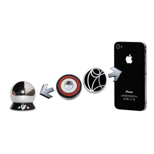 Инновационный универсальный магнитный автомобильный держатель шарнирного типа UF-X экстрасильной фиксации для любых гаджетов (смартфонов, планшетов) до 1 кг