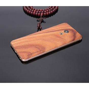 Экстратонкая клеевая натуральная деревянная накладка для Meizu MX6