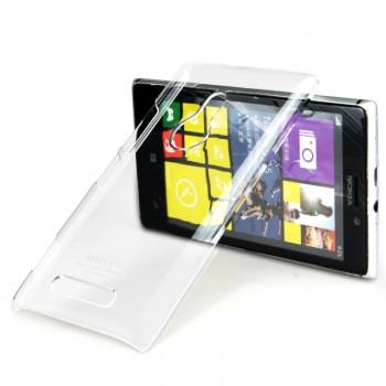 Транспарентный пластиковый чехол для Nokia Lumia 925