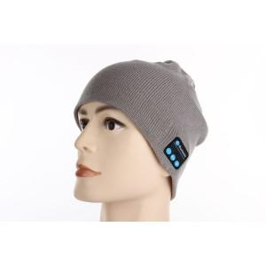 Шерстяная шапка с наушниками, микрофоном и функцией беспроводной bluetooth 3.0 стерео гарнитуры Белый