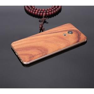 Экстратонкая клеевая натуральная деревянная накладка для Meizu Pro 6