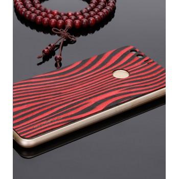 Экстратонкая клеевая натуральная деревянная накладка для Huawei Honor 8