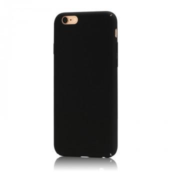 Пластиковый непрозрачный матовый чехол с улучшенной защитой элементов корпуса для Iphone 6 Plus
