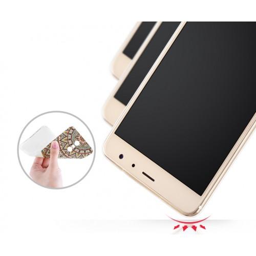 Силиконовый матовый непрозрачный чехол с объемно-рельефным принтом для Xiaomi RedMi Pro