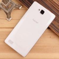 Транспарентный пластиковый чехол для Huawei Honor 3c
