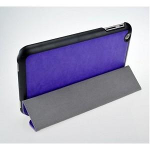 Чехол флип подставка сегментарный на пластиковой основе для планшета Toshiba Encore