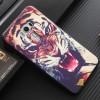 Силиконовый матовый непрозрачный чехол с объемно-рельефным принтом для Asus ZenFone 3 5.5