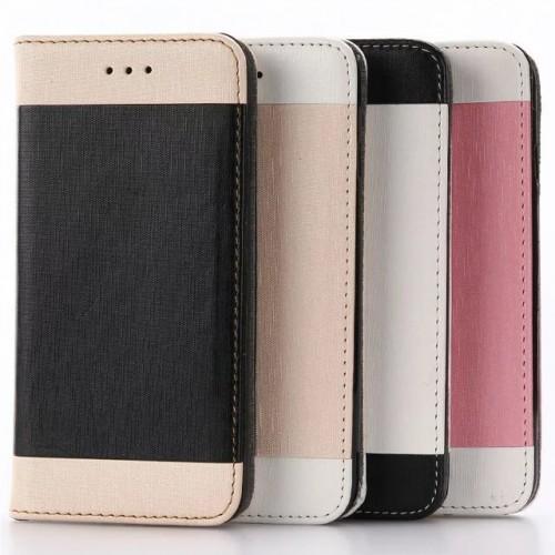 Чехол портмоне подставка на силиконовой основе для Iphone 7/8