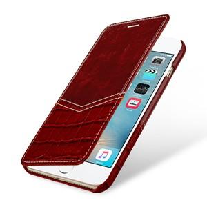Кожаный чехол горизонтальная книжка (2 вида премиум нат. кожи) для Iphone 7/8