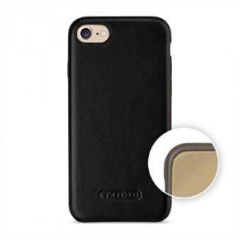 Кожаный чехол накладка (премиум нат. кожа) для Iphone 7/8