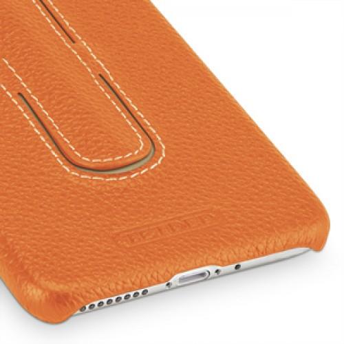 Кожаный чехол накладка (премиум нат. кожа) с функцией подставки для Iphone 7 Plus/8 Plus