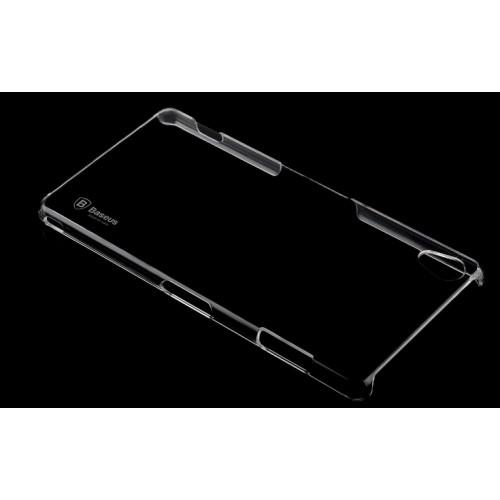 Ультратонкий пластиковый транспарентный чехол для Sony Xperia Z3