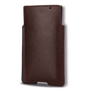 Кожаный мешок с отсеком для карт для Blackberry Priv