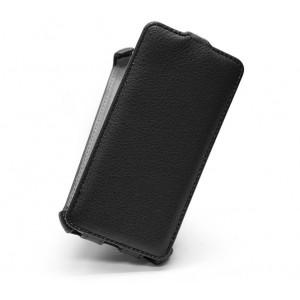 Вертикальный чехол-книжка для Xiaomi RedMi Note Черный