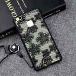Силиконовый матовый полупрозрачный чехол с текстурным покрытием Узоры для Huawei P9 Lite