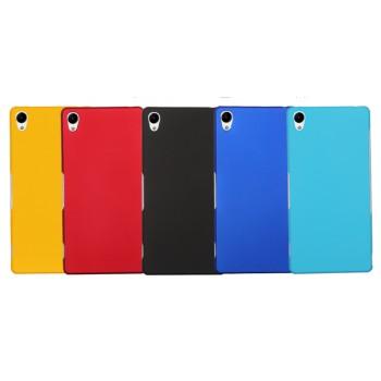 Пластиковый матовый грязестойкий чехол для Sony Xperia Z3