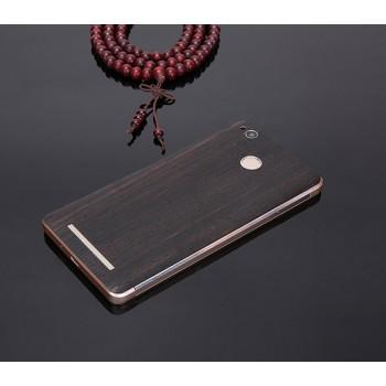 Экстратонкая клеевая натуральная деревянная накладка для Xiaomi RedMi Note 4