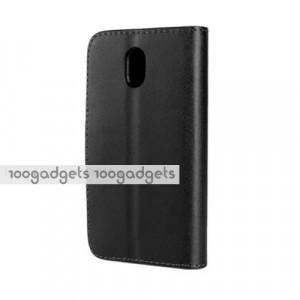 Чехол портмоне подставка с защелкой для HTC Desire 210 Черный