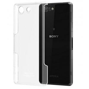 Пластиковый транспарентный чехол для Sony Xperia Z3 Compact