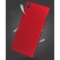 Пластиковый чехол серия Metallic для Sony Xperia Z3 Красный