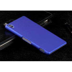 Пластиковый чехол серия Metallic для Sony Xperia Z3 Синий