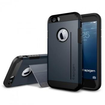 Силиконовый премиум чехол-подставка с поликарбонатной крышкой для Iphone 6
