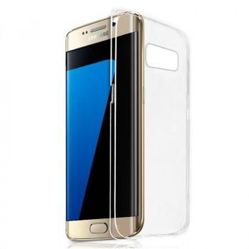 Оригинальный ультратонкий пластиковый транспарентный чехол для Samsung Galaxy S7 Edge
