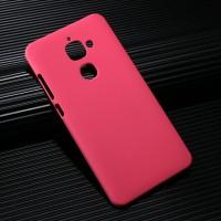 Пластиковый непрозрачный матовый чехол для LeEco Le 2 Розовый
