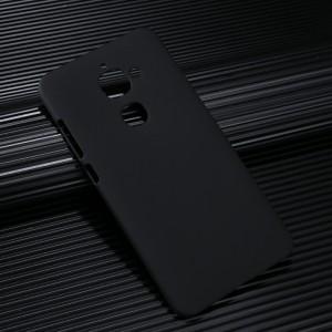 Пластиковый непрозрачный матовый чехол для LeEco Le 2 Черный