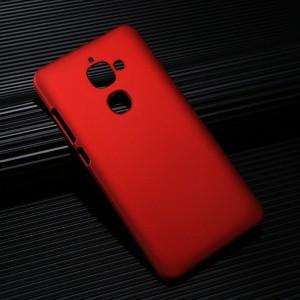 Пластиковый непрозрачный матовый чехол для LeEco Le 2 Красный