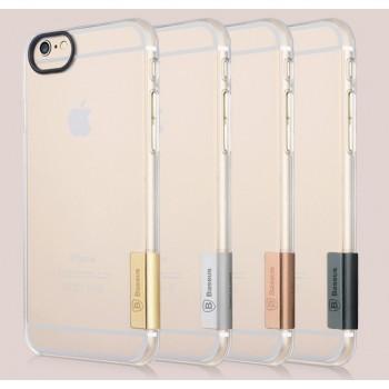 Ультратонкий прозрачный пластиковый чехол с защитой камеры для Iphone 6