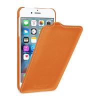 Кожаный чехол вертикальная книжка (премиум нат. кожа) для Iphone 7/8