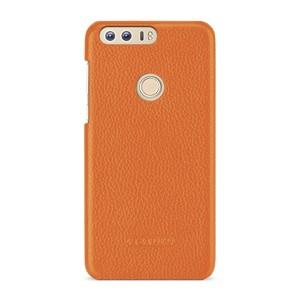 Кожаный чехол накладка (премиум нат. кожа) для Huawei Honor 8