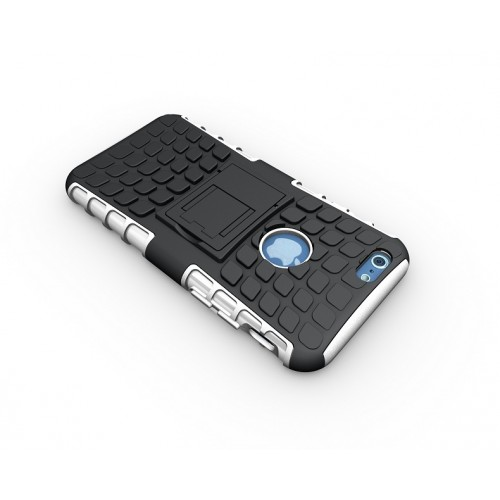 Силиконовый чехол экстрим защита для Iphone 6 Plus Розовый