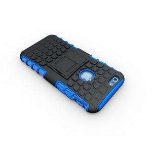Чехол экстрим защита силикон-пластик для Iphone 6 Синий