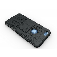 Чехол экстрим защита силикон-пластик для Iphone 6 Черный