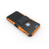 Чехол экстрим защита силикон-пластик для Iphone 6 Оранжевый