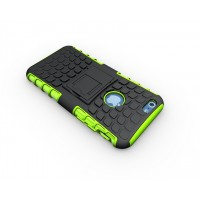 Чехол экстрим защита силикон-пластик для Iphone 6 Зеленый