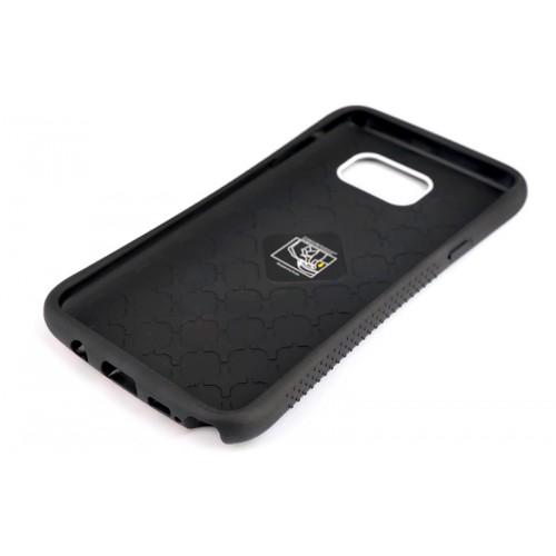 Силиконовый матовый непрозрачный чехол с нескользящими гранями и принтом для Samsung Galaxy Note 5