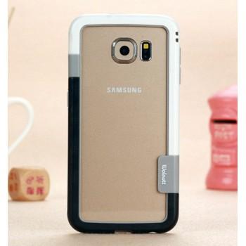 Силиконовый матовый непрозрачный бампер для Samsung Galaxy Note 5
