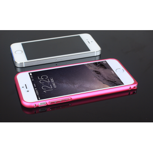 Металлический бампер для Iphone 6 Пурпурный