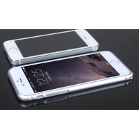 Металлический бампер для Iphone 6 Белый