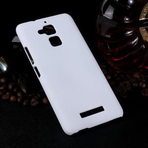 Пластиковый непрозрачный матовый чехол для Asus ZenFone 3 Max Белый