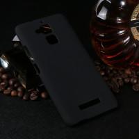 Пластиковый непрозрачный матовый чехол для Asus ZenFone 3 Max Черный