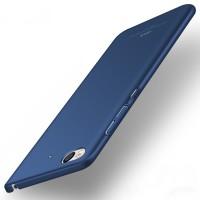 Пластиковый непрозрачный матовый чехол с улучшенной защитой элементов корпуса для Xiaomi Mi5S Синий