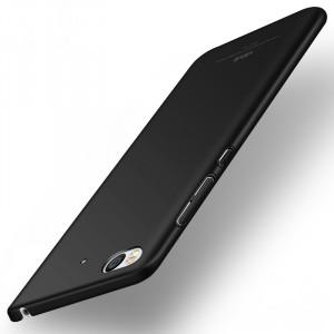 Пластиковый непрозрачный матовый чехол с улучшенной защитой элементов корпуса для Xiaomi Mi5S Черный