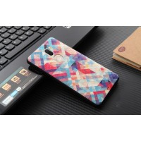 Силиконовый матовый непрозрачный чехол с объемно-рельефным принтом для Xiaomi Mi5S Plus