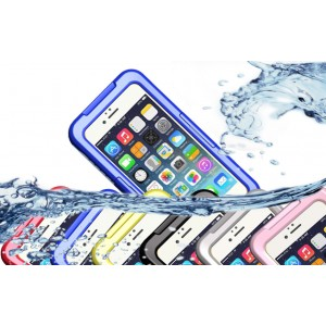 Водонепроницаемый силикон-пластик чехол для Iphone 6