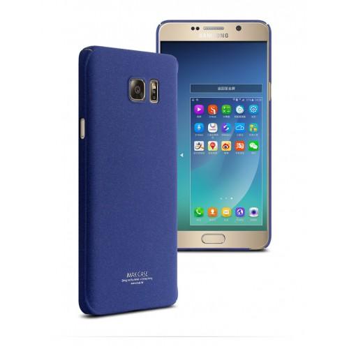 Пластиковый матовый чехол с повышенной шероховатостью для Samsung Galaxy Note 5